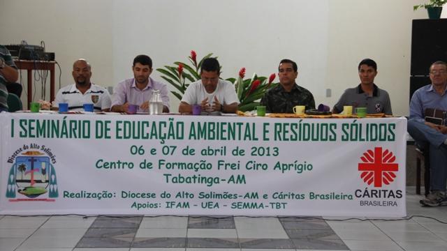 Foto de I Seminário de Educação Ambiental e Resíduos Sólidos