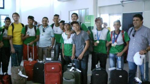 Foto de Alunos do IFAM Tabatinga se tornam campeões de Natação em jogos realizado em Manaus