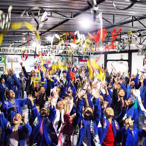 Photo of 122 atletas são graduados no Clube Anibal Jiu Jitsu em Tabatinga