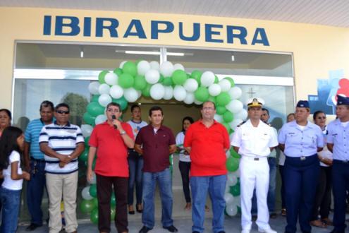 Foto de Prefeito de Tabatinga inaugura maior UBS do município e reinaugura unidade básica no Tancredo Neves