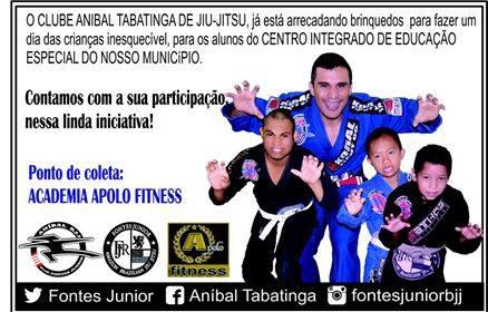 Photo of Clube Anibal Tabatinga de Jiu-Jitsu inicia campanha para o Dia das Crianças
