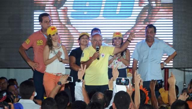 Foto de A apresentação de propostas e os pés no chão será a estratégia de campanha de Melo para o segundo turno