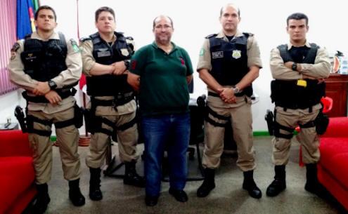 Foto de Autoridades da Policia Rodoviária Federal visitam Tabatinga para futuros trabalhos no município