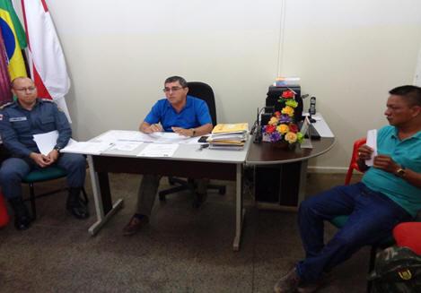 Foto de Reunião sobre segurança nas comunidades do Umariaçú I e II