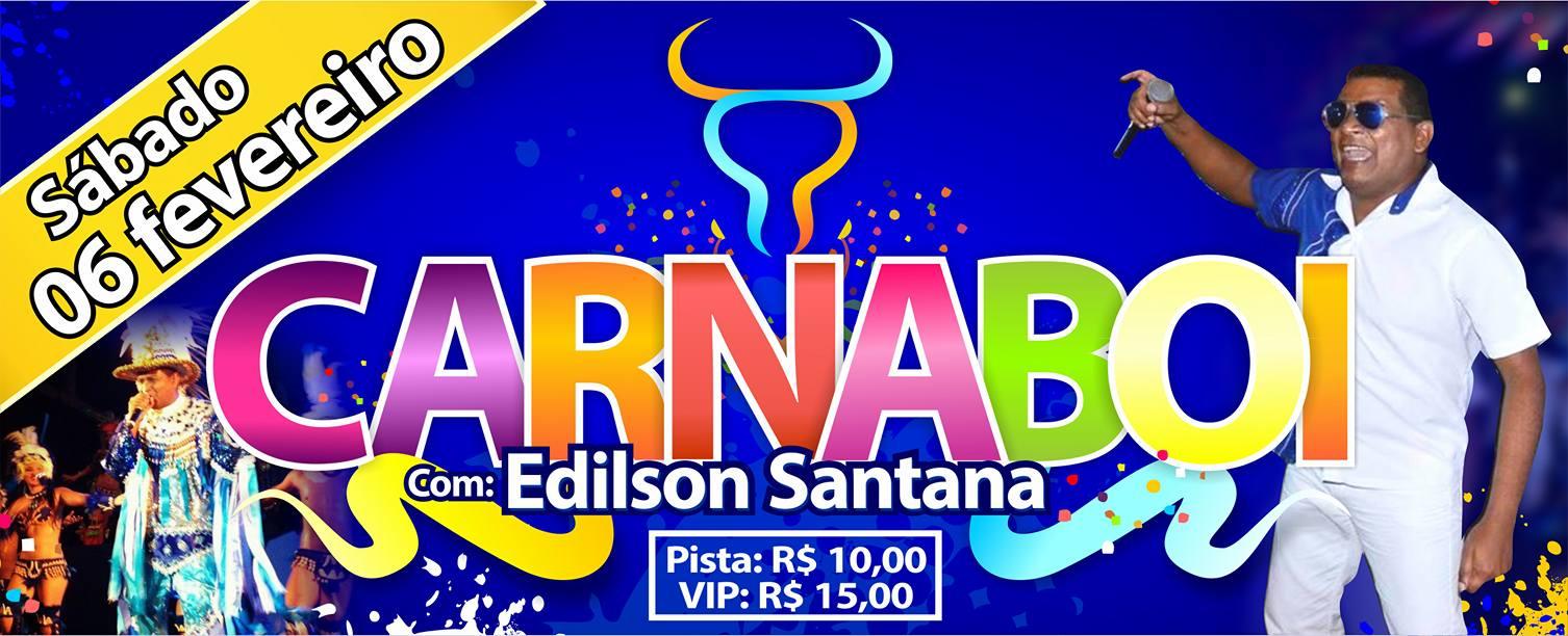 Photo of Fim de semana: Carnaboi com Edilson Santana na Scandalo's Dance!