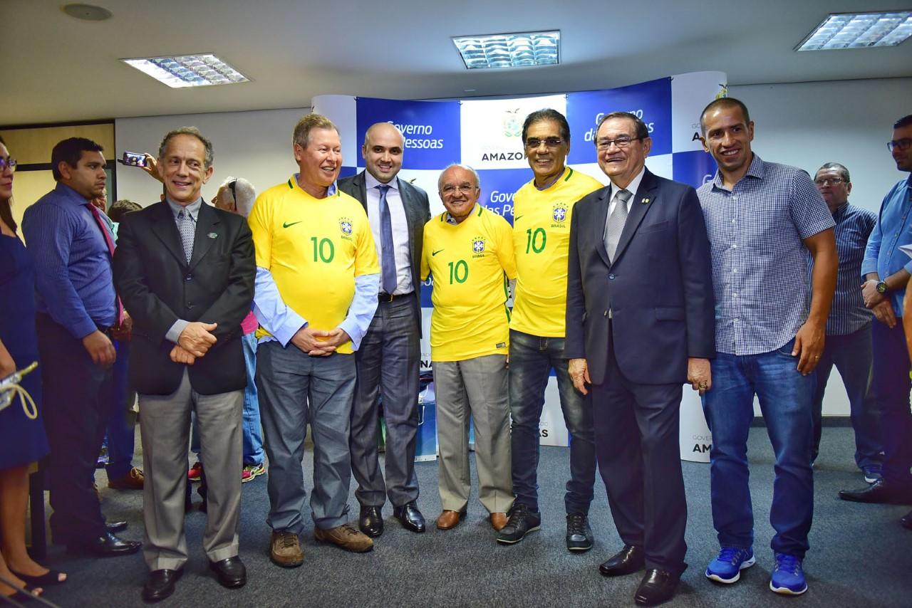 Photo of Brasil e Colômbia jogam no dia 6 de setembro pelas Eliminatórias na Arena da Amazônia