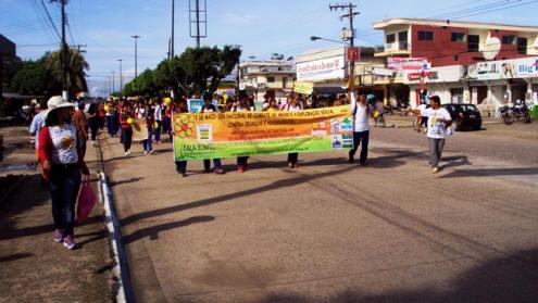 Foto de Tabatinga mobiliza população contra o trabalho infantil