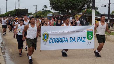 Photo of Exército realizou 14° Corrida da Paz em Tabatinga
