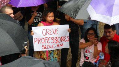 Photo of Greve na Educação tem adesão de profissionais da capital e 28 municípios