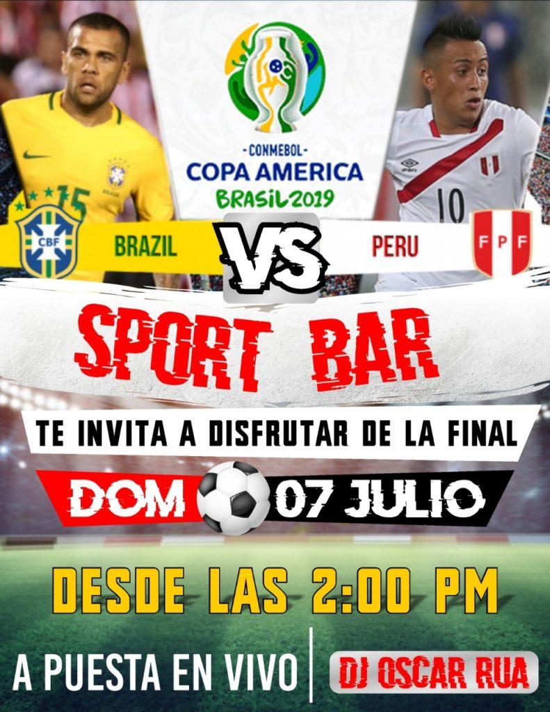 Brasil X Peru Festa Na Fronteira Na Final Da Copa America Portal Tabatinga
