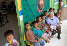 Foto de Cmdo Fron Solimões/8º BIS realizou Ação Cívico-Social na Comunidade Indígena de São José do Apaporis