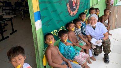 Photo of Cmdo Fron Solimões/8º BIS realizou Ação Cívico-Social na Comunidade Indígena de São José do Apaporis