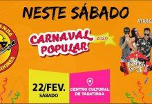 Foto de Prefeitura de Tabatinga divulga programação do Carnaval Popular 2020