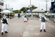 Foto de Presença militar colombiana é reforçada na fronteira por causa do Covid-19
