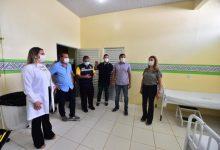 Foto de Wilson inaugura ala para atender indígenas em hospital de Atalaia do Norte