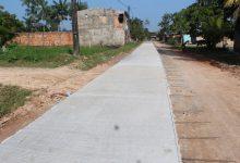 Foto de Mais ruas continuam sendo concretadas em Tabatinga